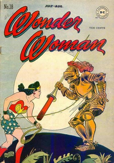 Cover for Wonder Woman (DC, 1942 series) #18