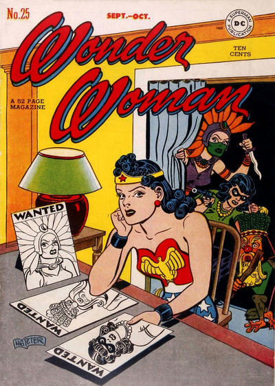 Cover for Wonder Woman (DC, 1942 series) #25