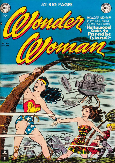 Cover for Wonder Woman (DC, 1942 series) #40