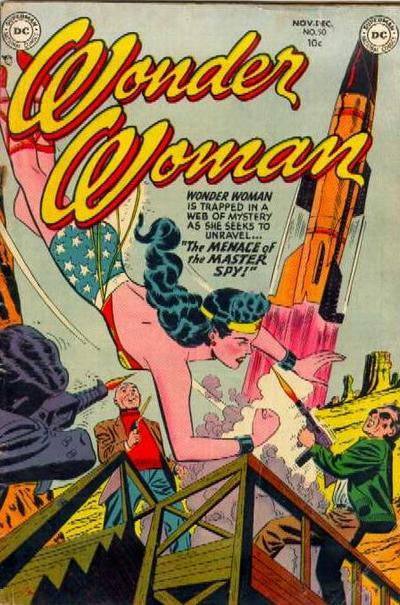 Cover for Wonder Woman (DC, 1942 series) #50