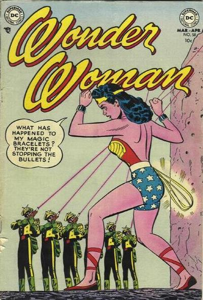 Cover for Wonder Woman (DC, 1942 series) #58