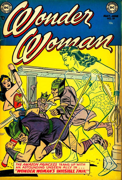Cover for Wonder Woman (DC, 1942 series) #59