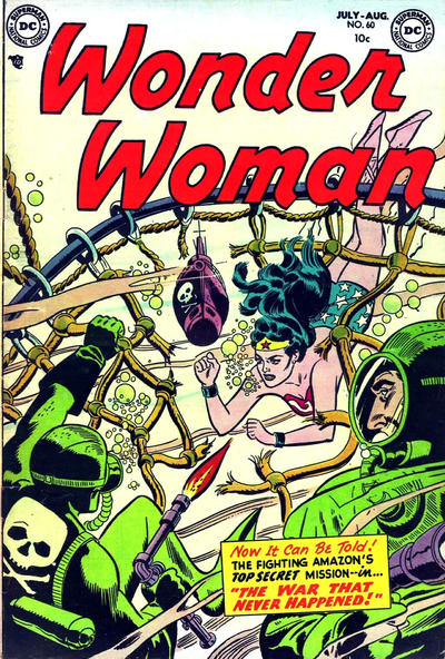 Cover for Wonder Woman (DC, 1942 series) #60