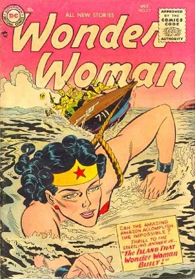 Cover for Wonder Woman (DC, 1942 series) #77
