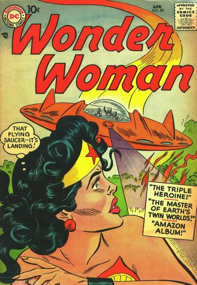 Cover for Wonder Woman (DC, 1942 series) #89
