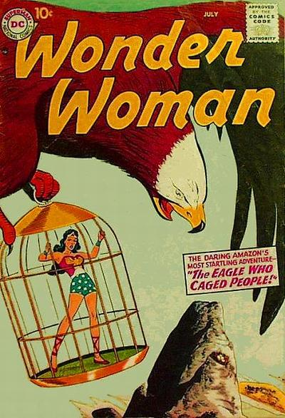 Cover for Wonder Woman (DC, 1942 series) #91