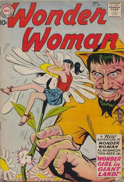 Cover for Wonder Woman (DC, 1942 series) #109