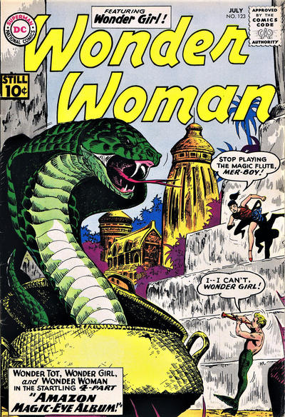 Cover for Wonder Woman (DC, 1942 series) #123