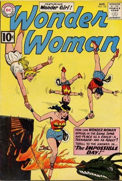 Cover for Wonder Woman (DC, 1942 series) #124