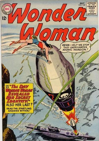 Cover for Wonder Woman (DC, 1942 series) #139