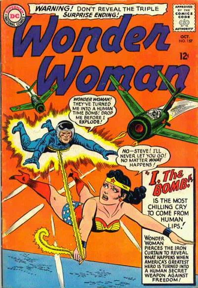 Cover for Wonder Woman (DC, 1942 series) #157