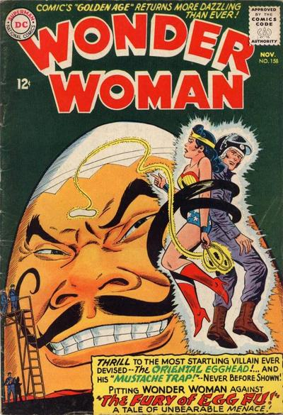 Cover for Wonder Woman (DC, 1942 series) #158