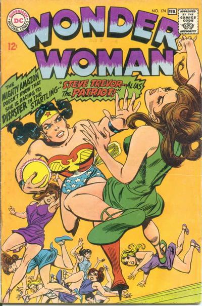 Cover for Wonder Woman (DC, 1942 series) #174