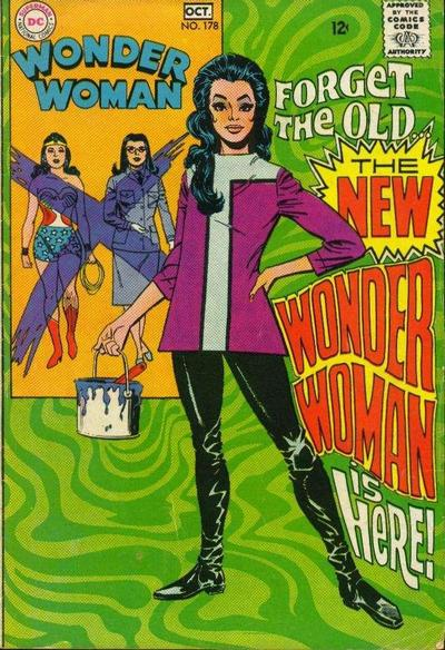 Cover for Wonder Woman (DC, 1942 series) #178