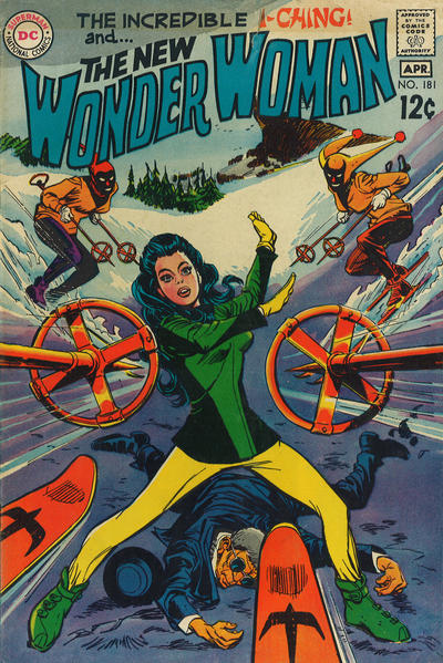 Cover for Wonder Woman (DC, 1942 series) #181