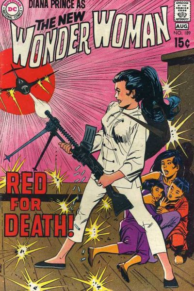 Cover for Wonder Woman (DC, 1942 series) #189