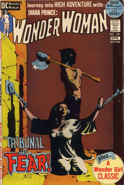 Cover for Wonder Woman (DC, 1942 series) #199