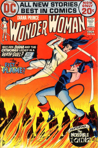 Cover for Wonder Woman (DC, 1942 series) #201