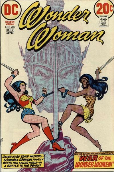 Cover for Wonder Woman (DC, 1942 series) #206