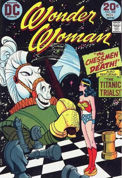 Cover for Wonder Woman (DC, 1942 series) #208