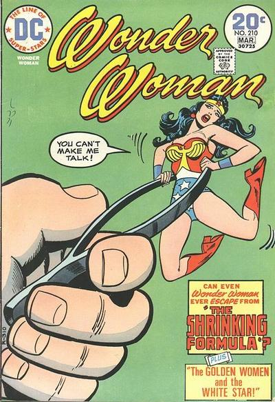 Cover for Wonder Woman (DC, 1942 series) #210
