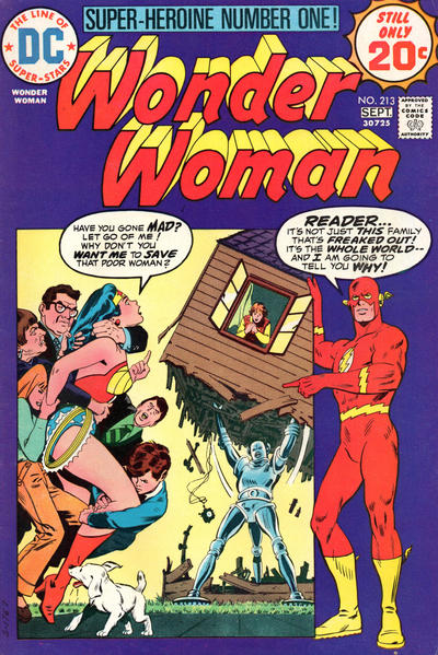 Cover for Wonder Woman (DC, 1942 series) #213