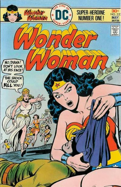 Cover for Wonder Woman (DC, 1942 series) #223