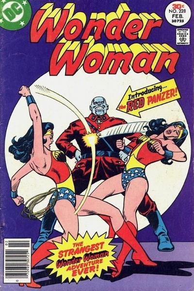 Cover for Wonder Woman (DC, 1942 series) #228