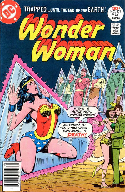 Cover for Wonder Woman (DC, 1942 series) #231