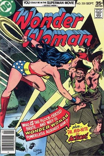 Cover for Wonder Woman (DC, 1942 series) #235