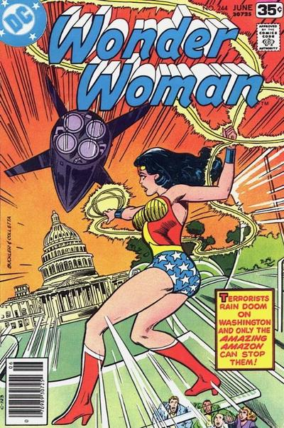 Cover for Wonder Woman (DC, 1942 series) #244