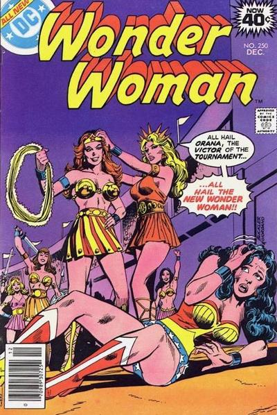 Cover for Wonder Woman (DC, 1942 series) #250 [Pence Variant]