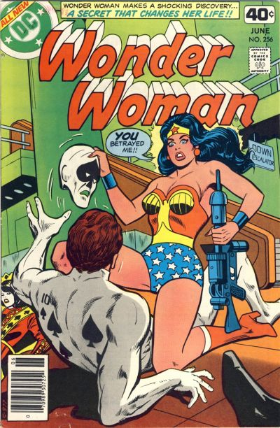 Cover for Wonder Woman (DC, 1942 series) #256