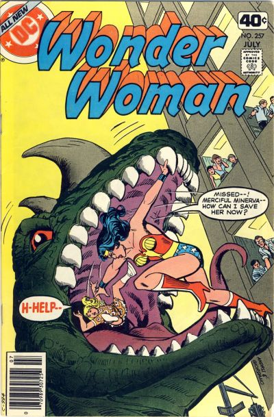 Cover for Wonder Woman (DC, 1942 series) #257