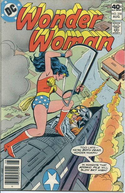 Cover for Wonder Woman (DC, 1942 series) #258