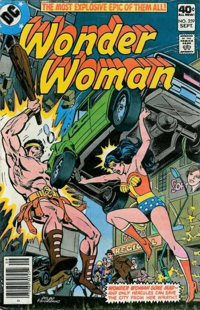 Cover for Wonder Woman (DC, 1942 series) #259