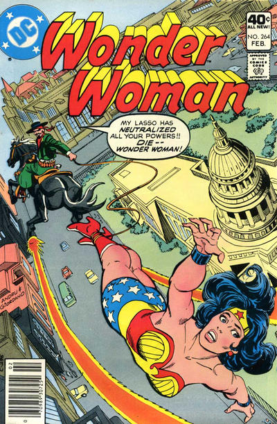 Cover for Wonder Woman (DC, 1942 series) #264