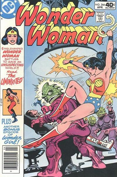 Cover for Wonder Woman (DC, 1942 series) #266