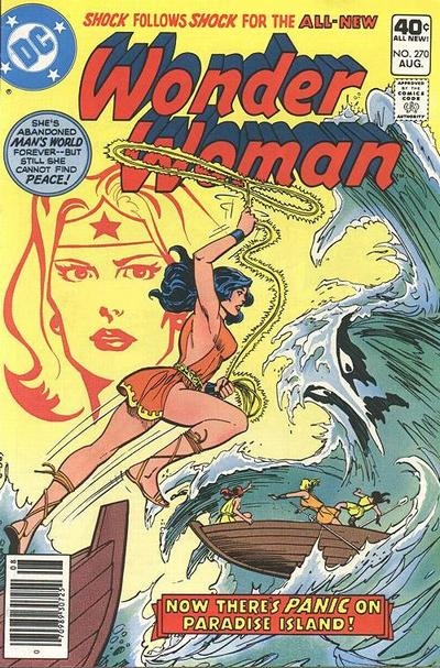 Cover for Wonder Woman (DC, 1942 series) #270 [Pence Variant]