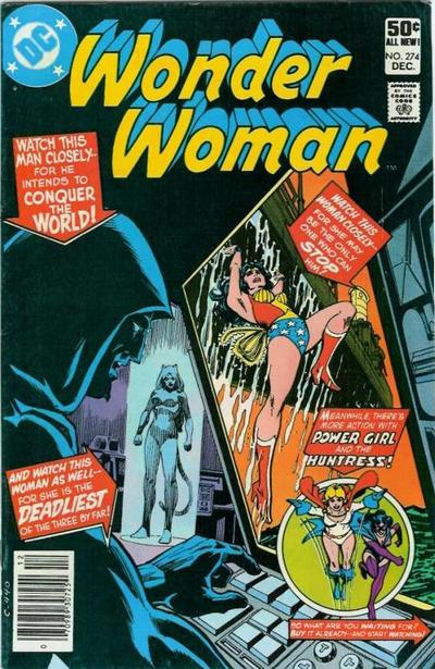 Cover for Wonder Woman (DC, 1942 series) #274 [Newsstand]
