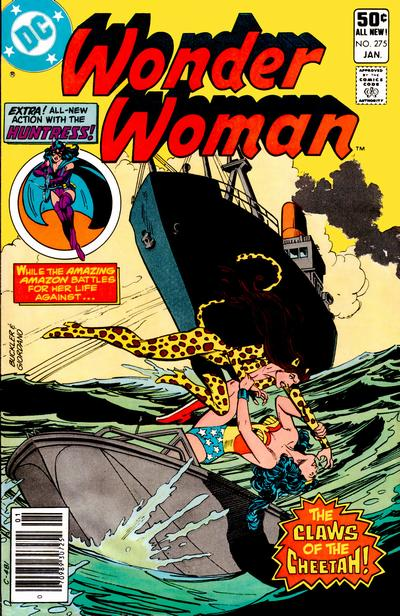 Cover for Wonder Woman (DC, 1942 series) #275 [Newsstand]