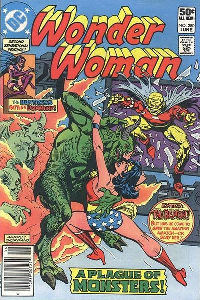 Cover for Wonder Woman (DC, 1942 series) #280