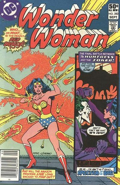 Cover for Wonder Woman (DC, 1942 series) #283 [Direct Sales]