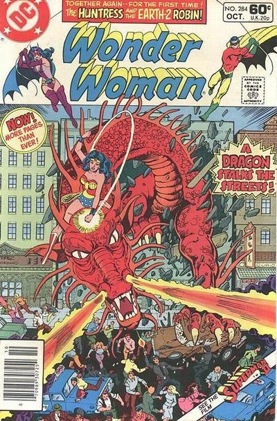 Cover for Wonder Woman (DC, 1942 series) #284 [Direct]