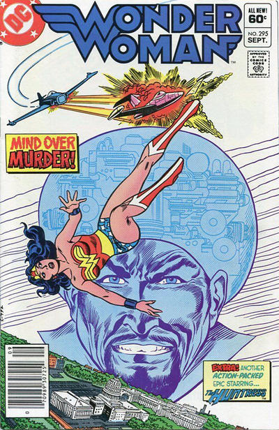 Cover for Wonder Woman (DC, 1942 series) #295 [Direct]