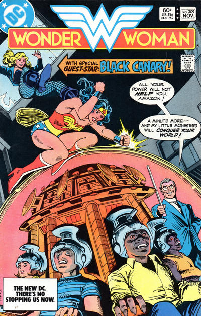Cover for Wonder Woman (DC, 1942 series) #309 [Direct-Sales]