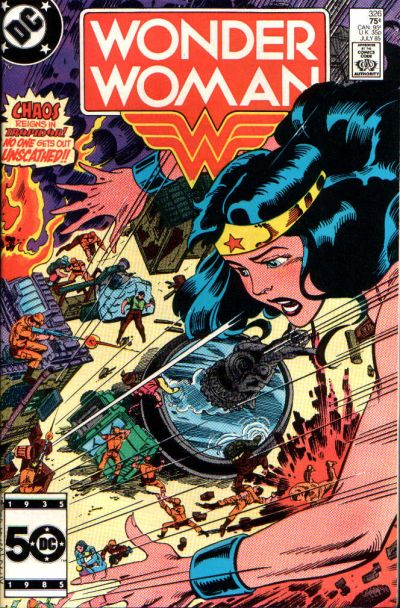 Cover for Wonder Woman (DC, 1942 series) #326 [Newsstand]
