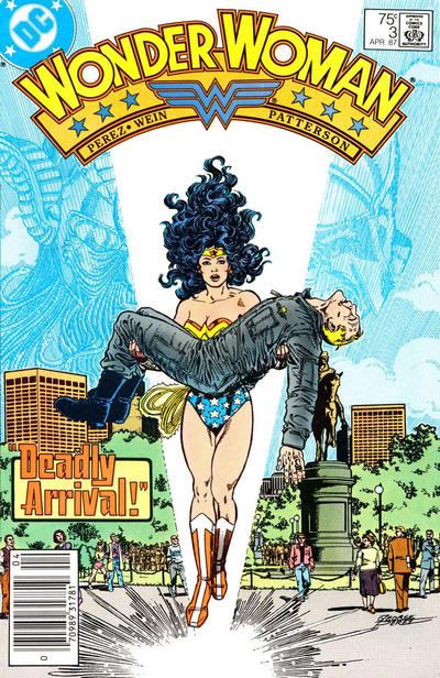 Cover for Wonder Woman (DC, 1987 series) #3 [Newsstand]