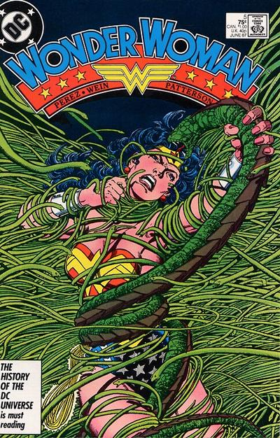 Cover for Wonder Woman (DC, 1987 series) #5 [Newsstand]
