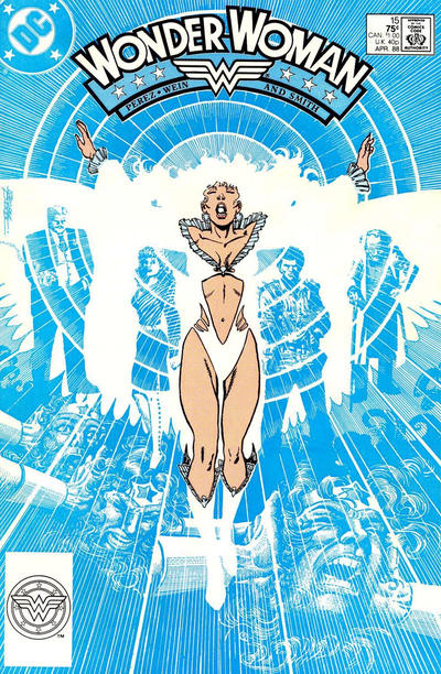 Cover for Wonder Woman (DC, 1987 series) #15